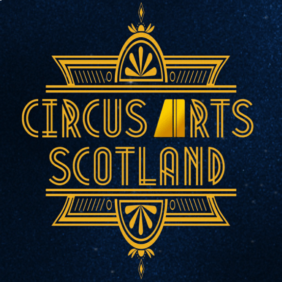 an image of the circus arts scotland logo