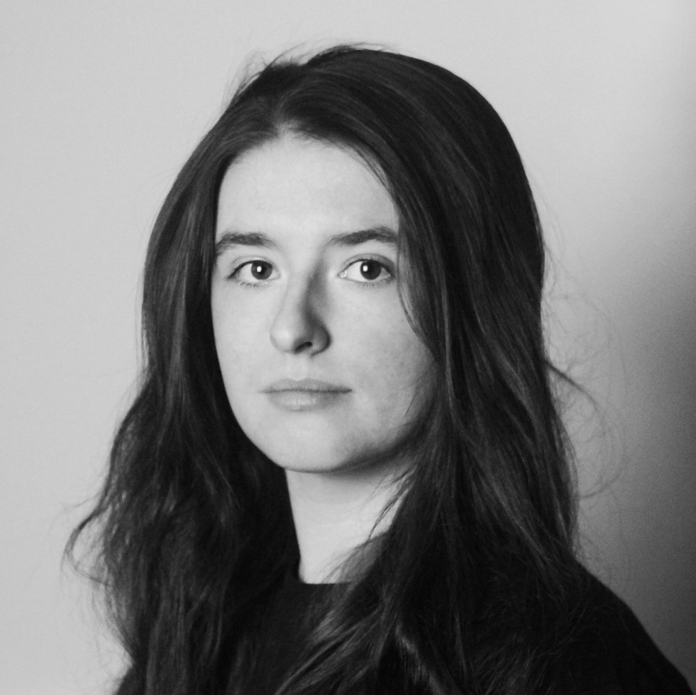 black and white headshot of Jamie lee Aitken.