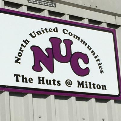 North United Communities signage on a building.