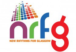 new rhythms for glasgow logo.