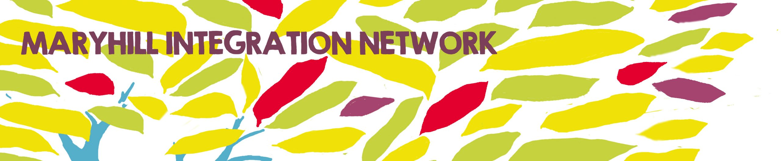 logo graphic for maryhill integration network.