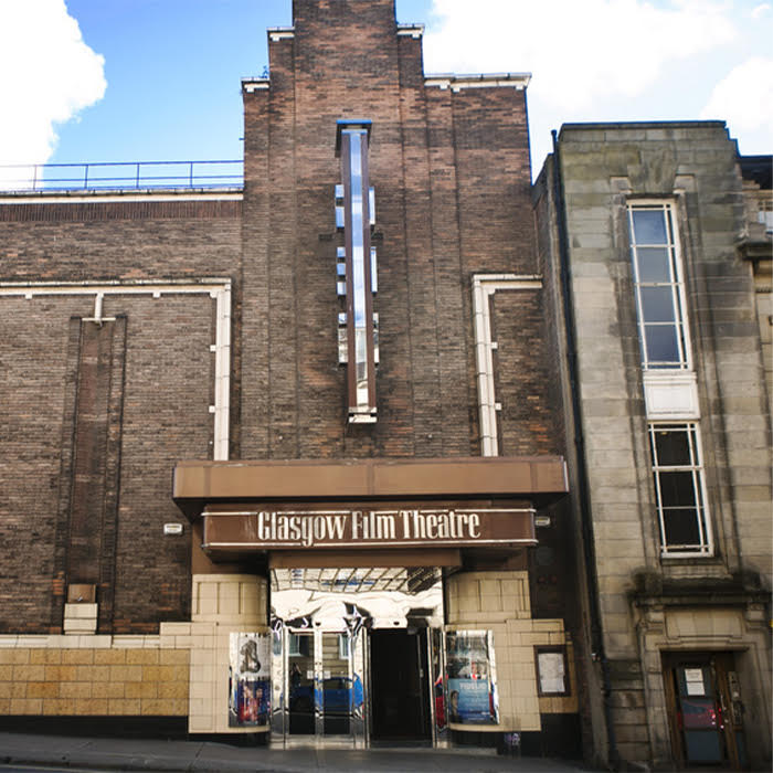 a view of the Glasgow Film Theatre Building.