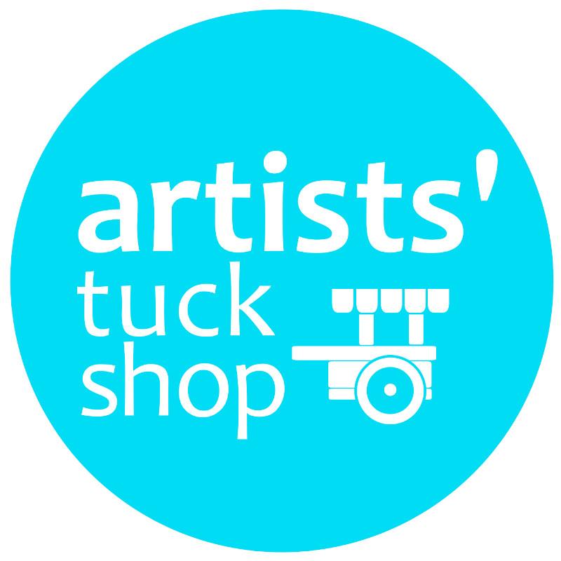 artist's tuck shop logo.