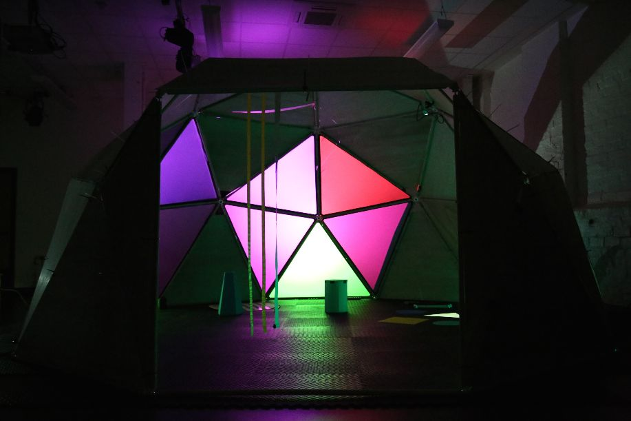 a soundplay installation dome.