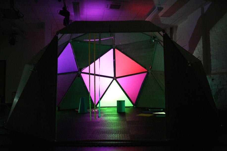 a soundplay installation dome.