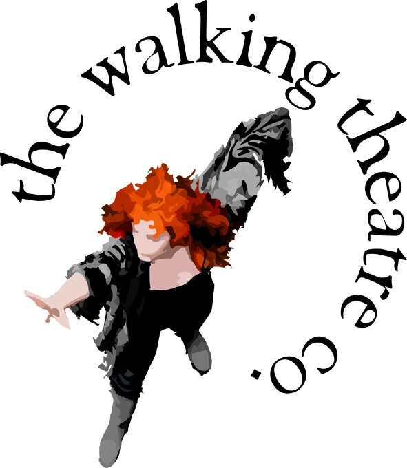 the walking theatre logo.