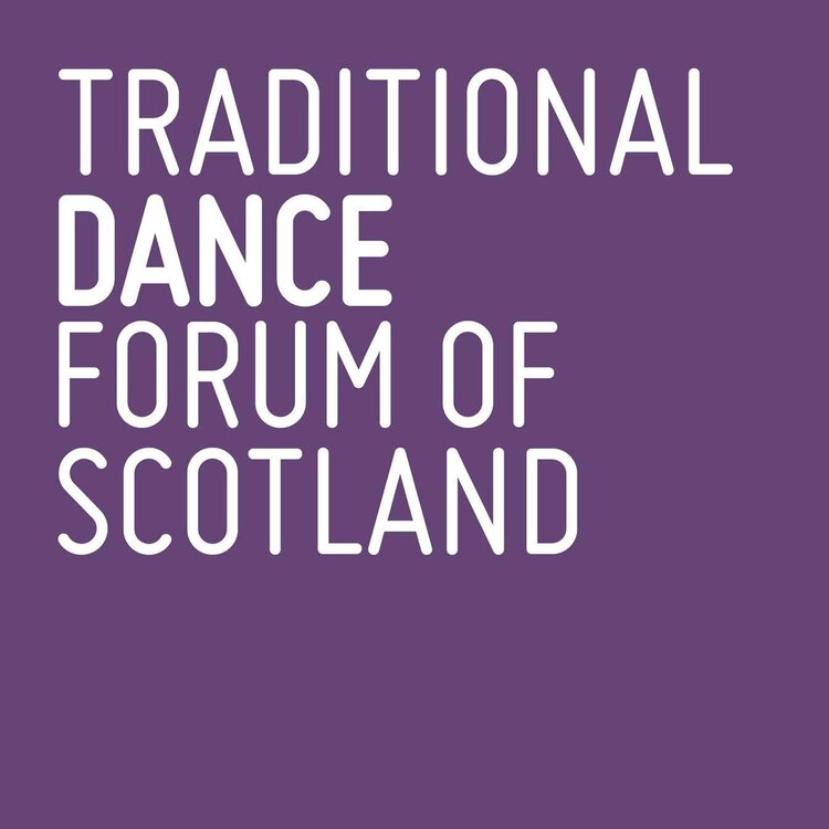 traditional dance forum of scotland logo.