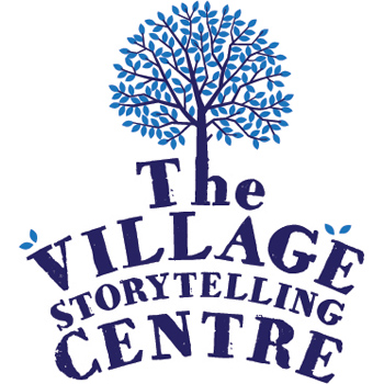the village storytelling centre logo.