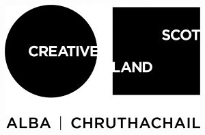 Creative Scotland Logo.