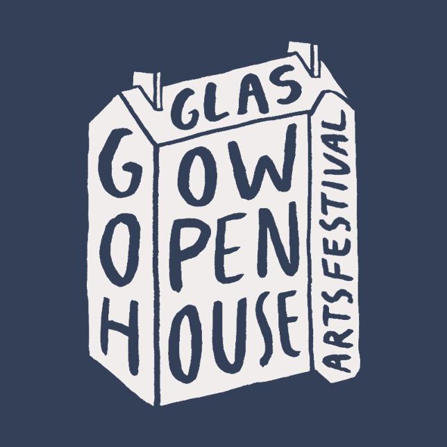 Glasgow Open House Arts Festival Logo.