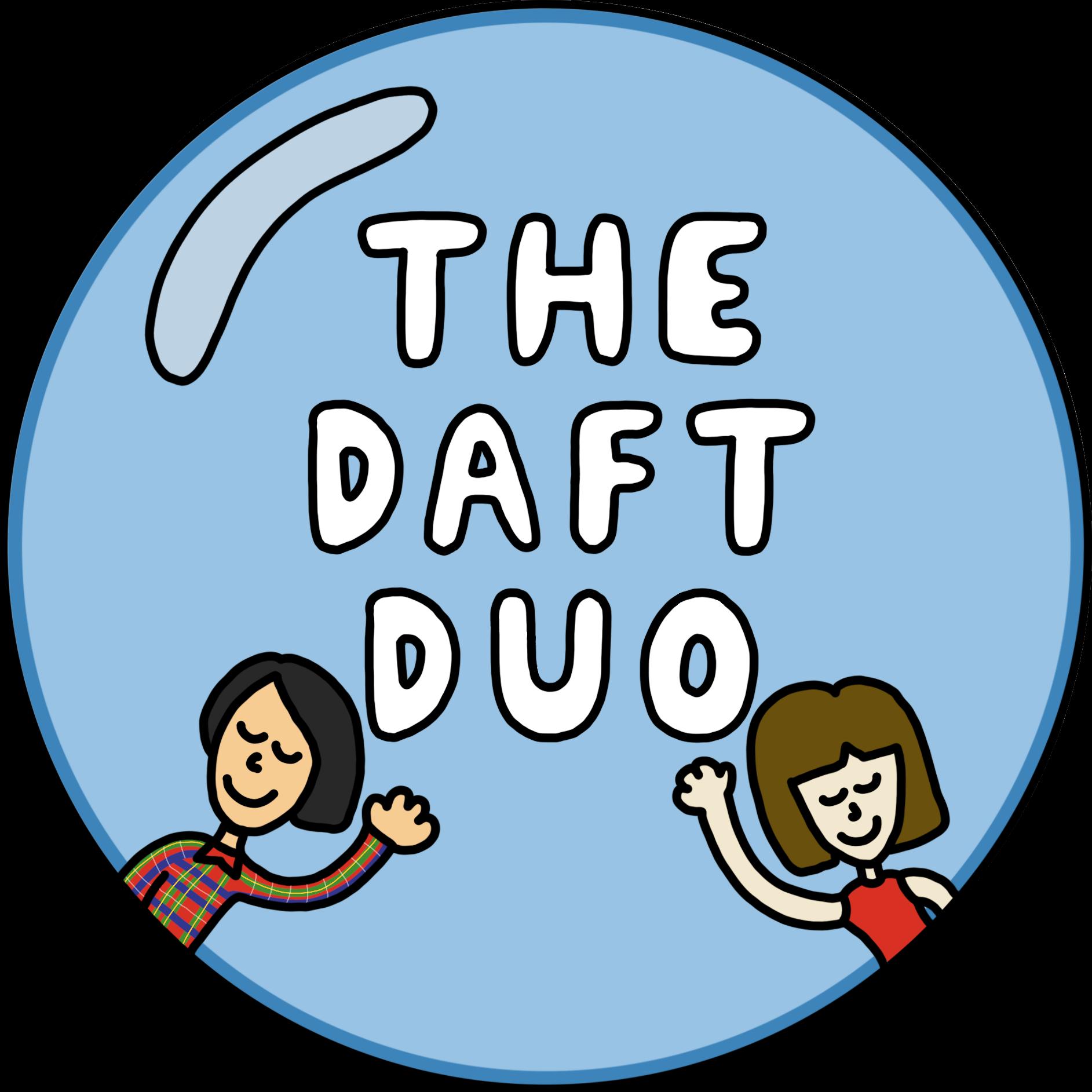the daft duo logo.
